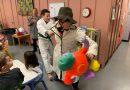 """Kaptain Kangaroo kidnaps Miss """"O""""!"""