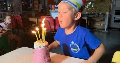 Happy 5th Birthday, Sawyer!